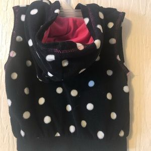 Carter's Jackets & Coats - **5 for $10** black vest with white polka dots